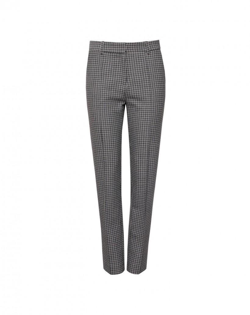Spodnie we wzór pepitki