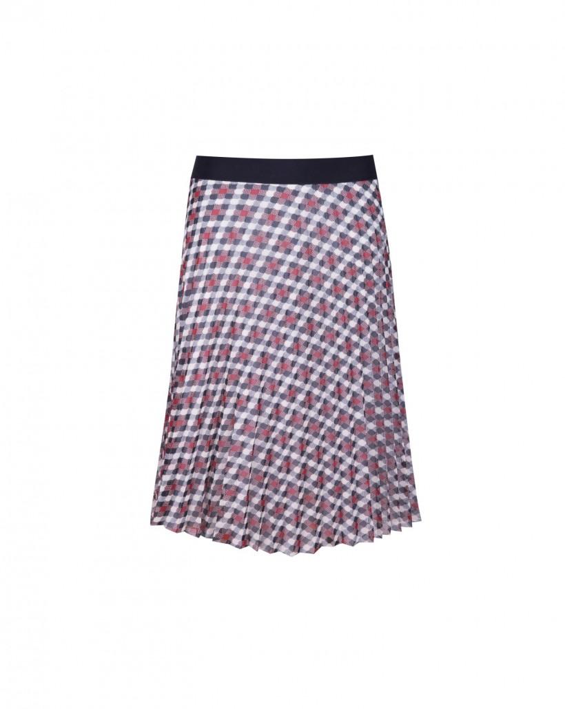 Spódnica w geometryczny wzór