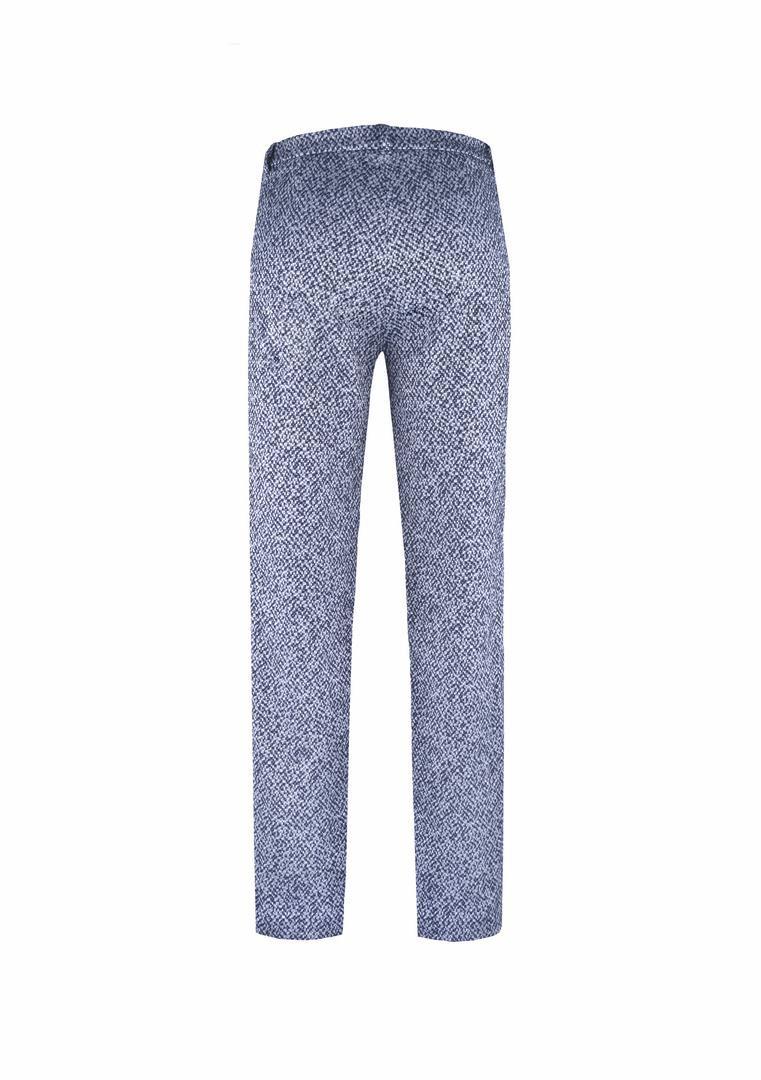 Bawełniane spodnie  z prostymi nogawkami