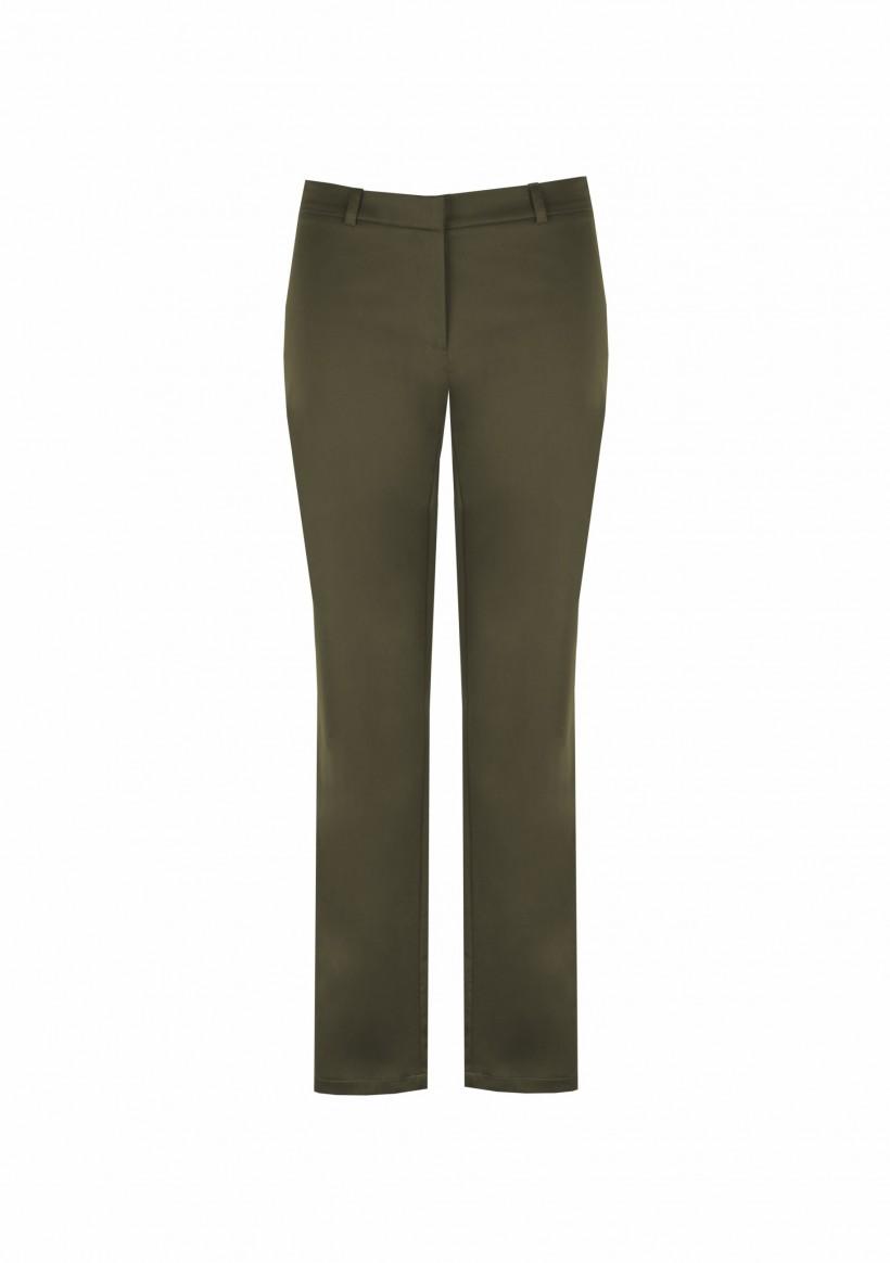 Bawełniane spodnie z wąskimi nogawkami