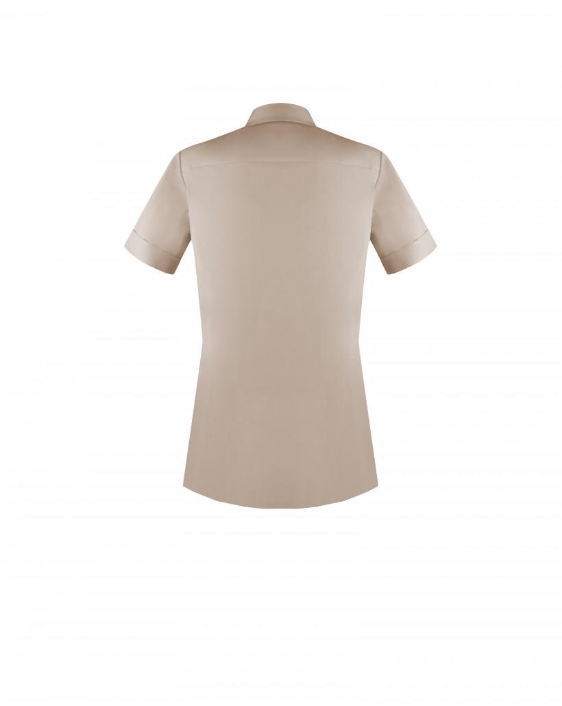 Bawełniana koszula dwukolorowa