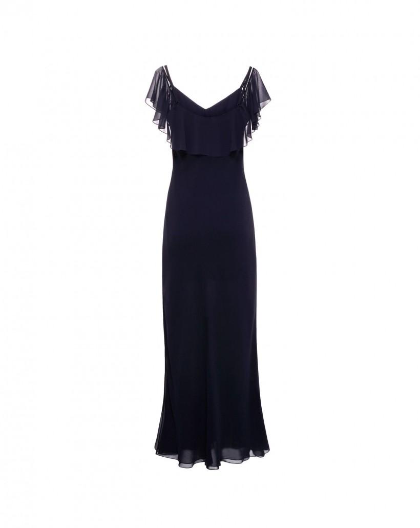 Zwiewna sukienka szyfonowa