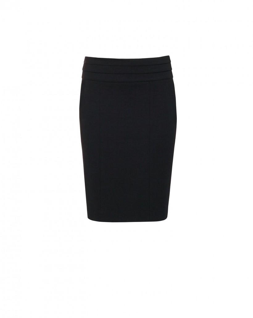 Ołówkowa spódnica w kolorze czarnym