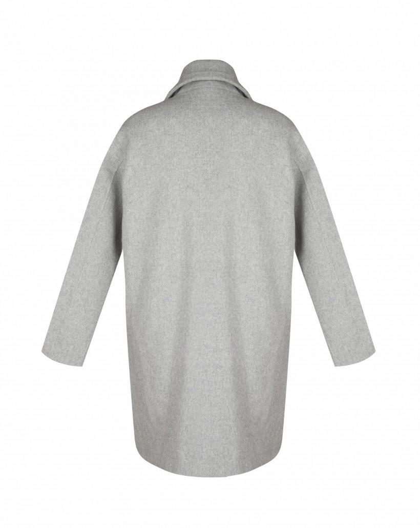 Płaszcz wełniany typu oversize