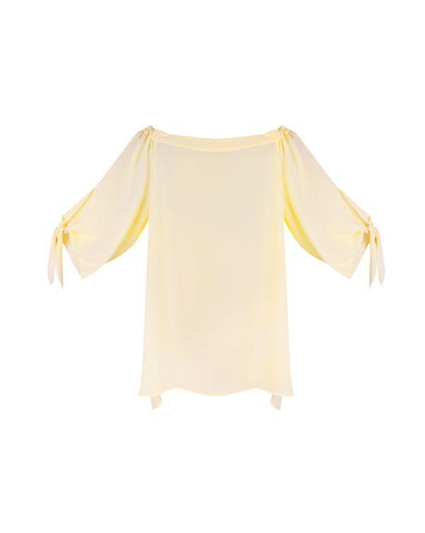 Bluzka z odsłoniętymi ramionami