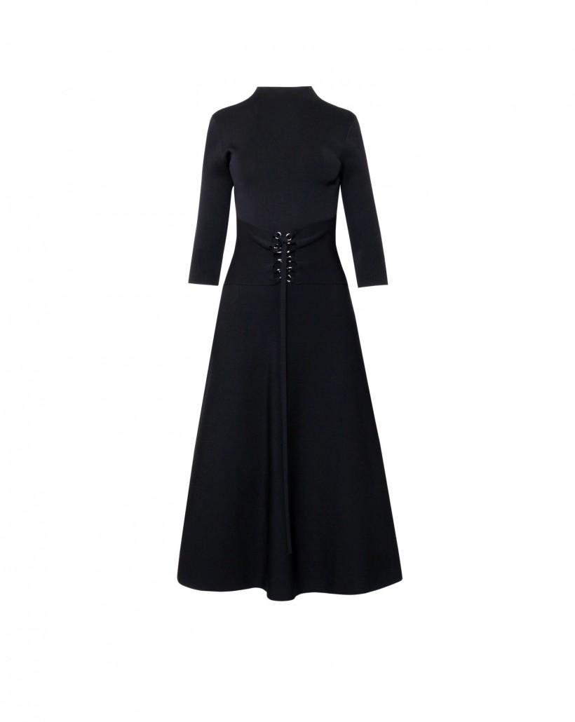 Sukienka odcinana w pasie