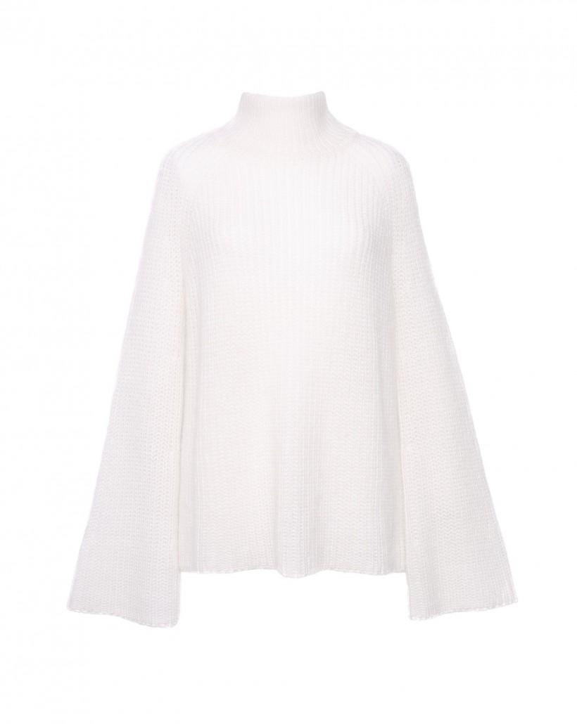 Ciepły sweter z angorą