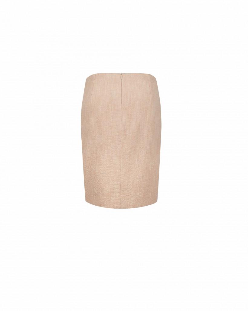 Ołówkowa spódnica bawełniana
