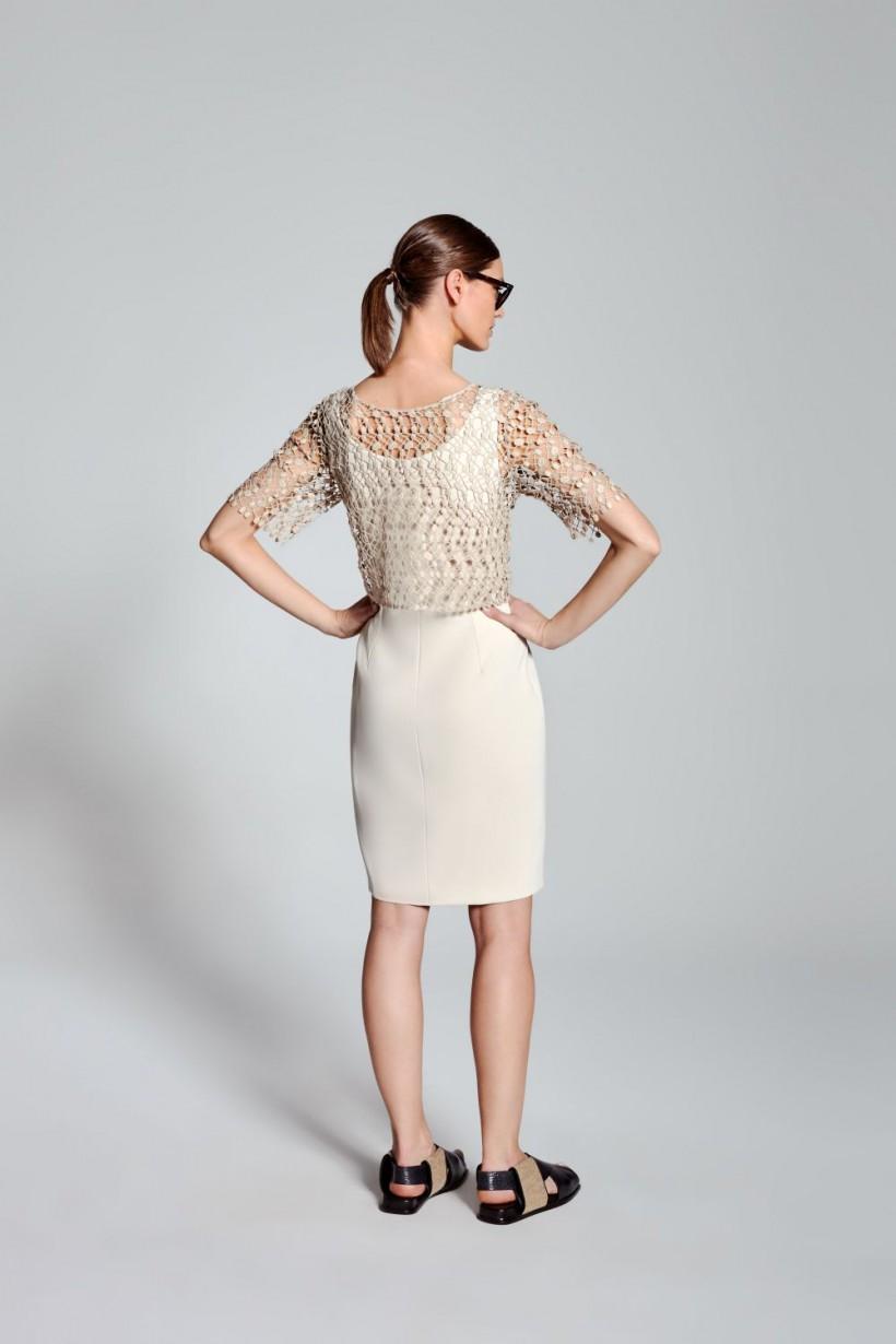 bae2a0e78a Sukienka dwuczęściowa z koronkową górą - Sukienki - OUTLET Hexeline ...