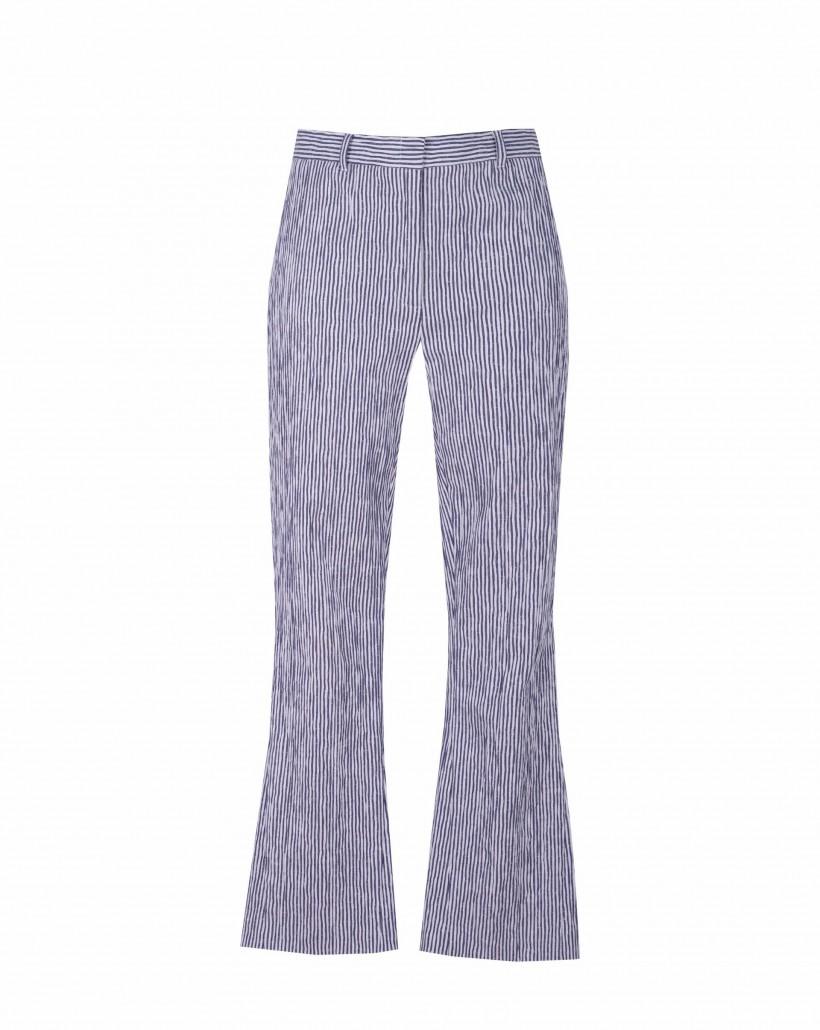 Bawełniane spodnie typu dzwony
