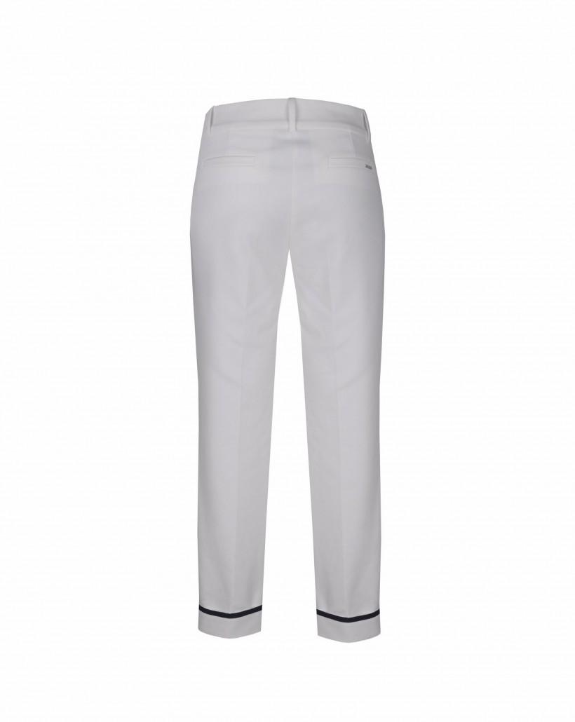 Spodnie krótsze z mankietem