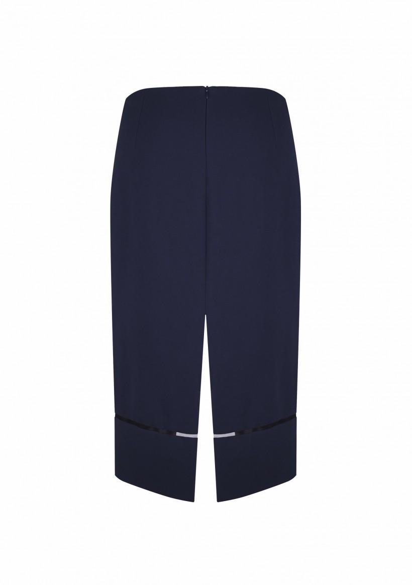 Długa spódnica z rozporkami