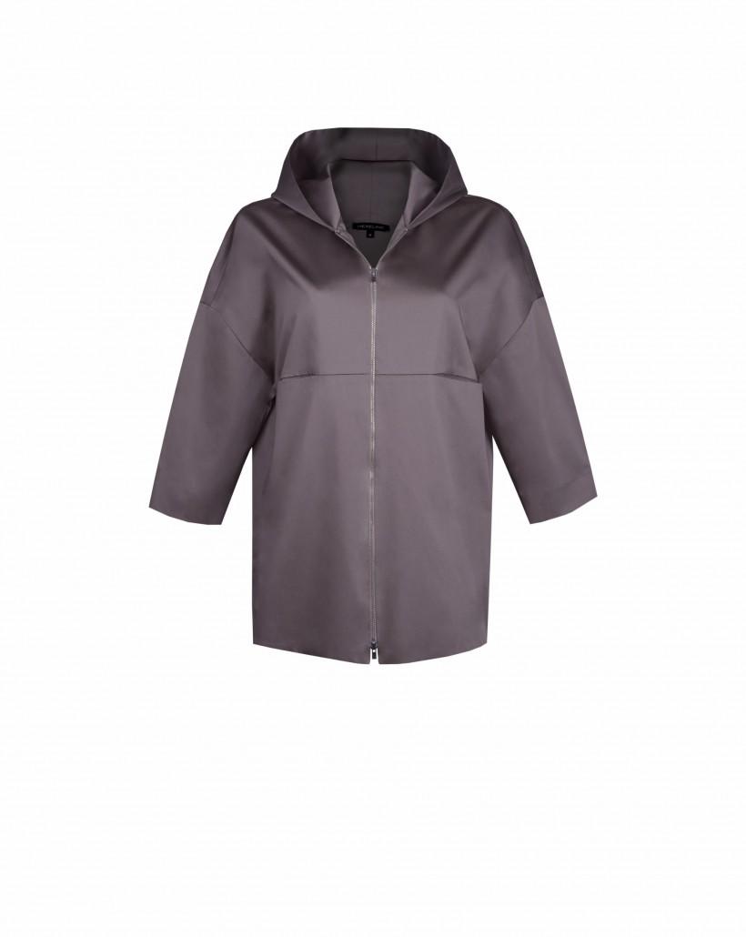 Bawełniana kurtka z kapturem
