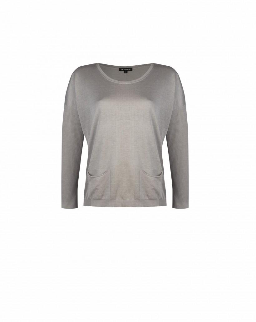 Sweter z kieszonkami