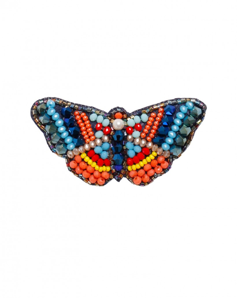 Broszka w kształcie motyla