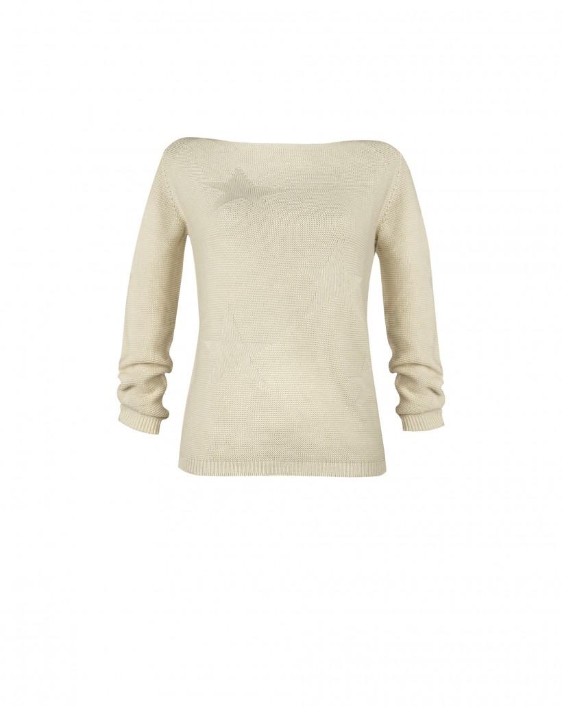 Sweter z gwiazdą