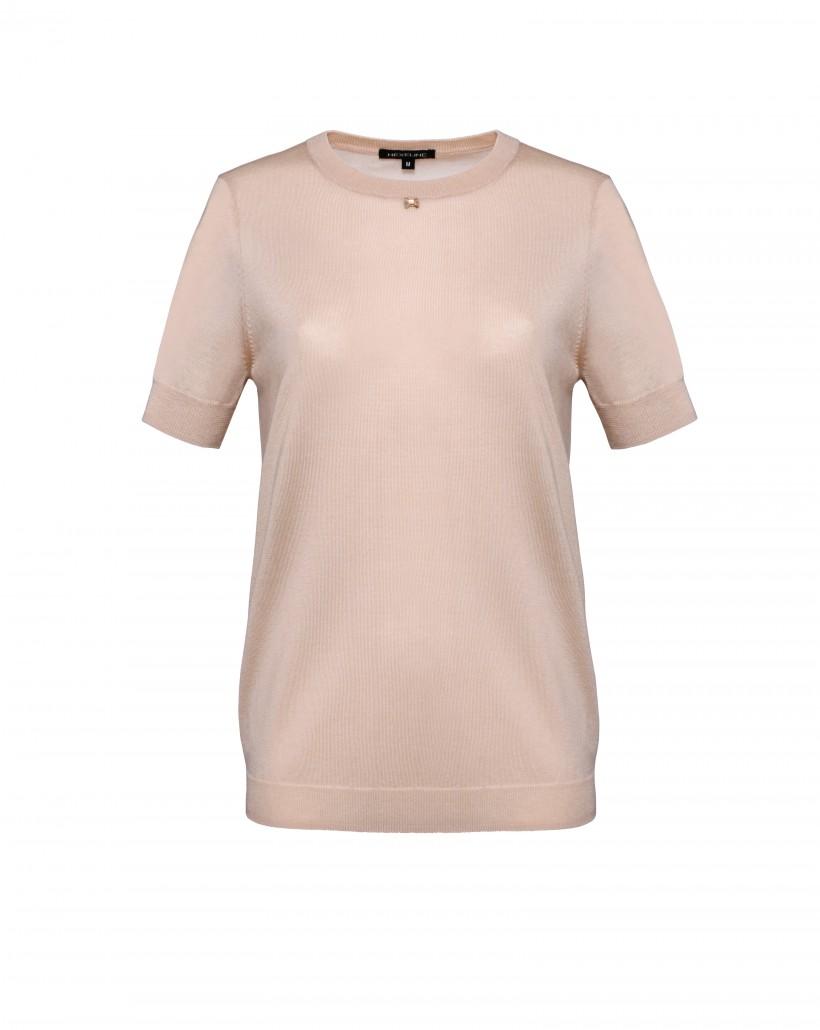 Sweter bluzka z krótkim rękawkiem