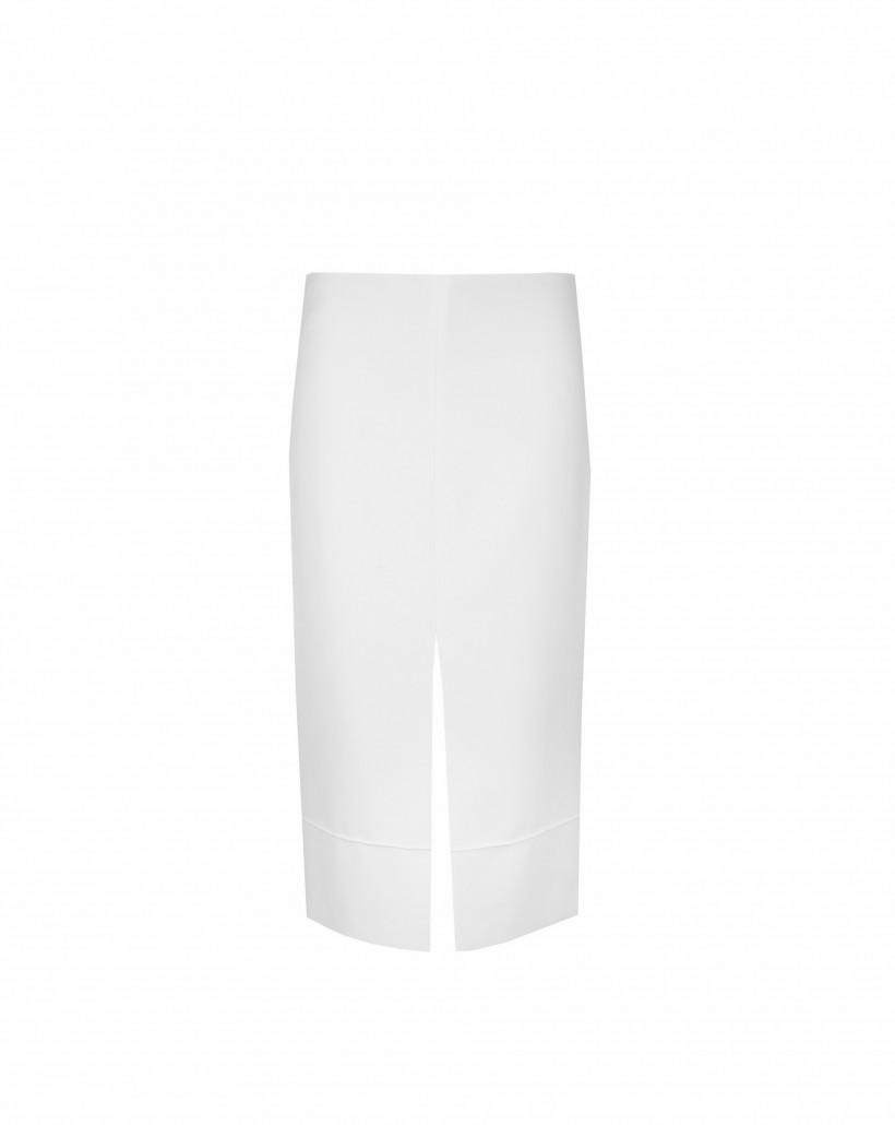 Ołówkowa spódnica z rozporkiem