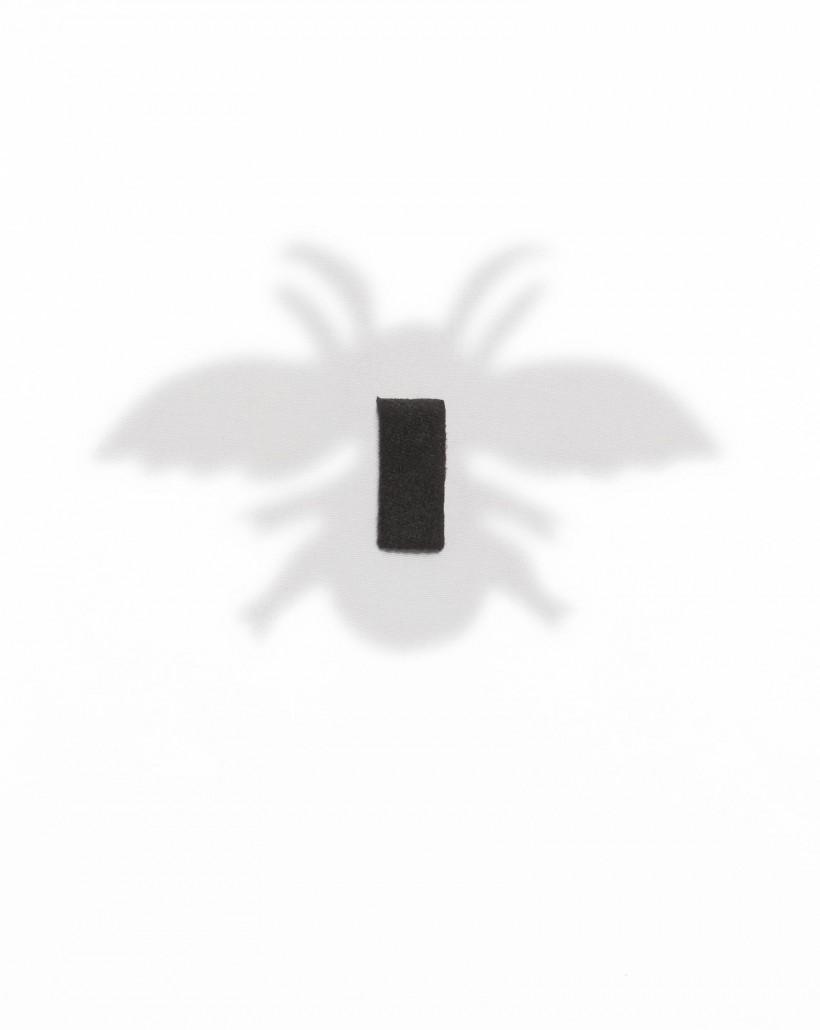 Broszka w kształcie owada z holograficznymi kryształkami