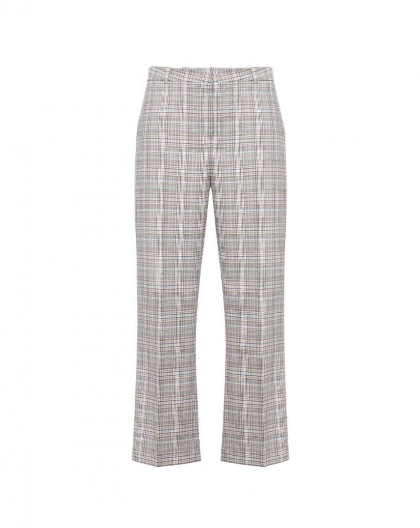 Spodnie we wzor kratki