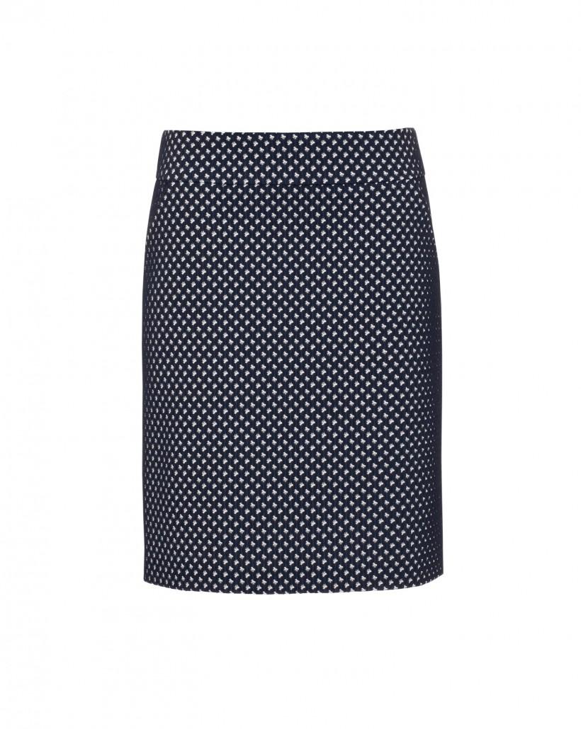 Ołówkowa spódnica żakardowa