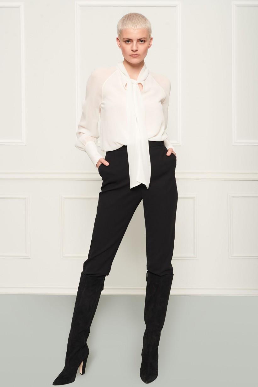Klasyczne spodnie w kant