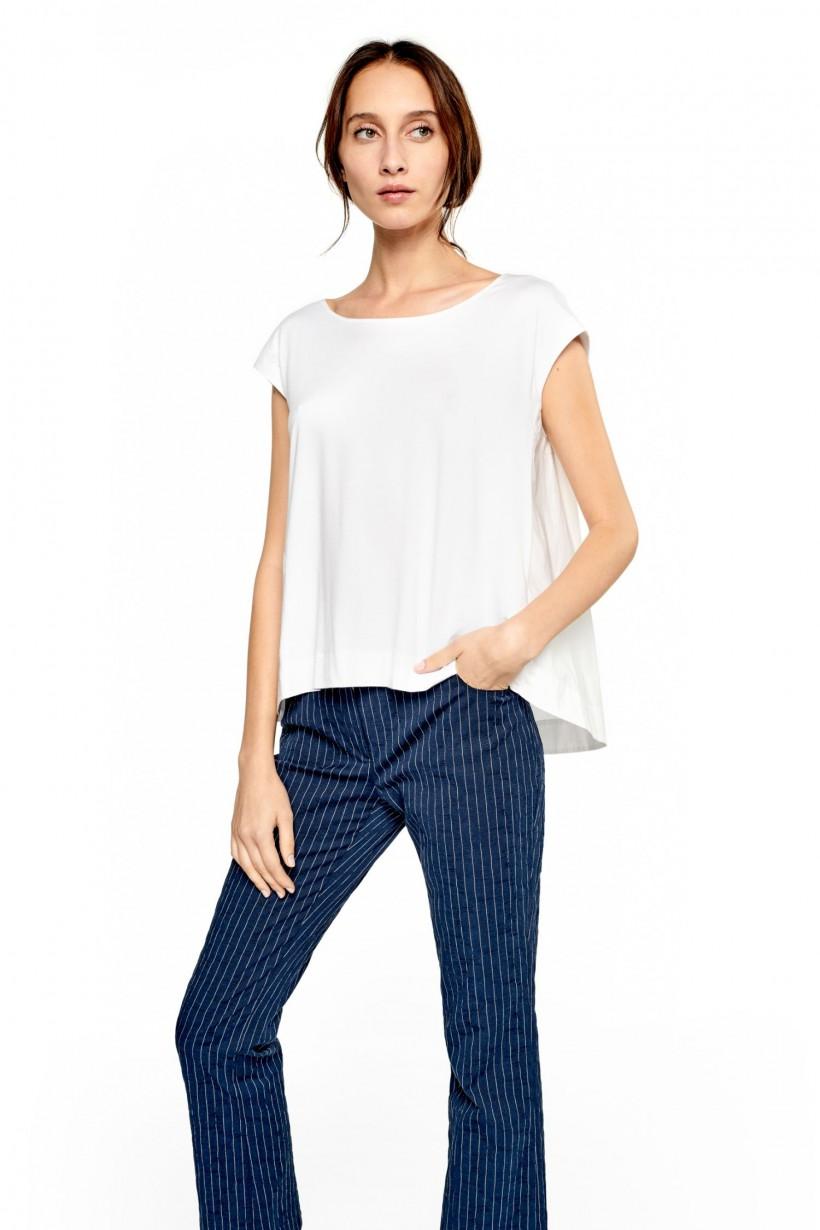 Komfortowa bluzka z bawełny