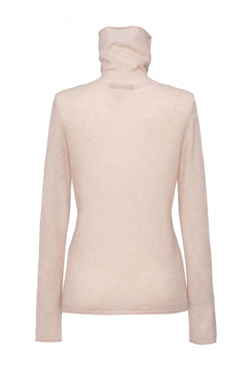 Beżowy sweter z kaszmiru