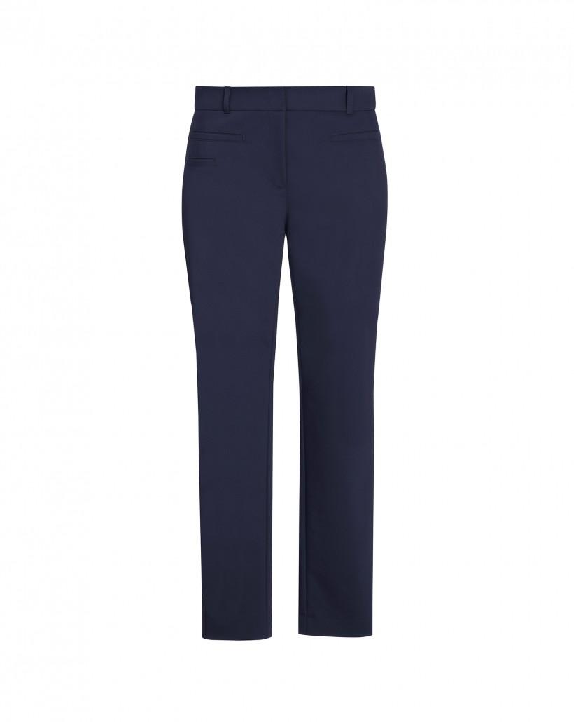 Granatowe klasyczne spodnie