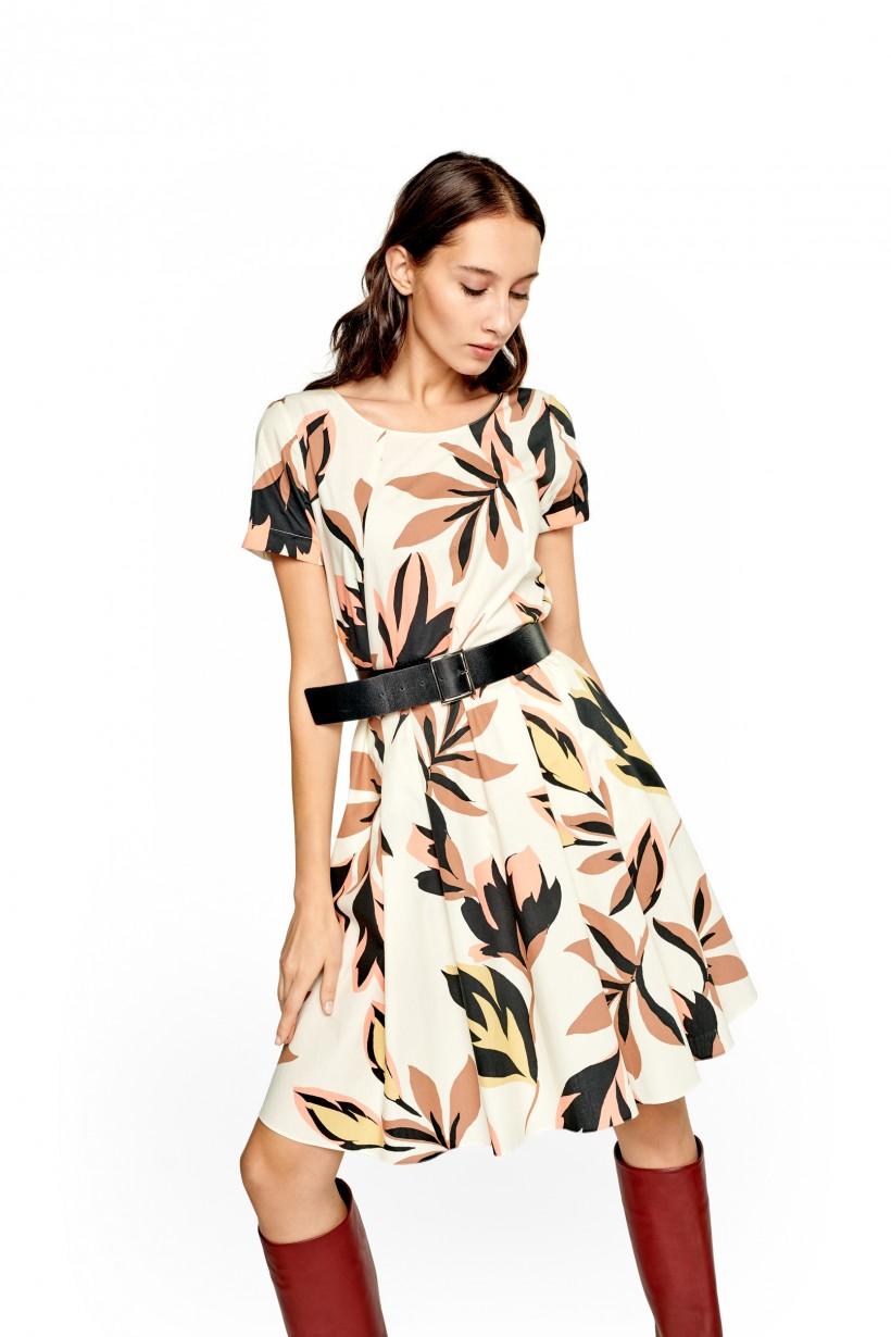 b9478e79a1 Bawełniana sukienka w kwiaty - Sukienki - Wiosna Lato 2019 Hexeline ...