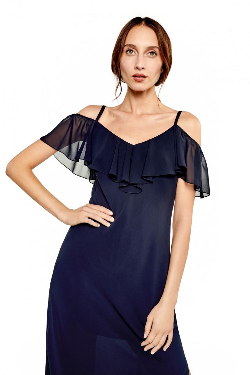 094c0c7840 Zwiewna sukienka szyfonowa - Sukienki - Wiosna Lato 2019 Hexeline ...