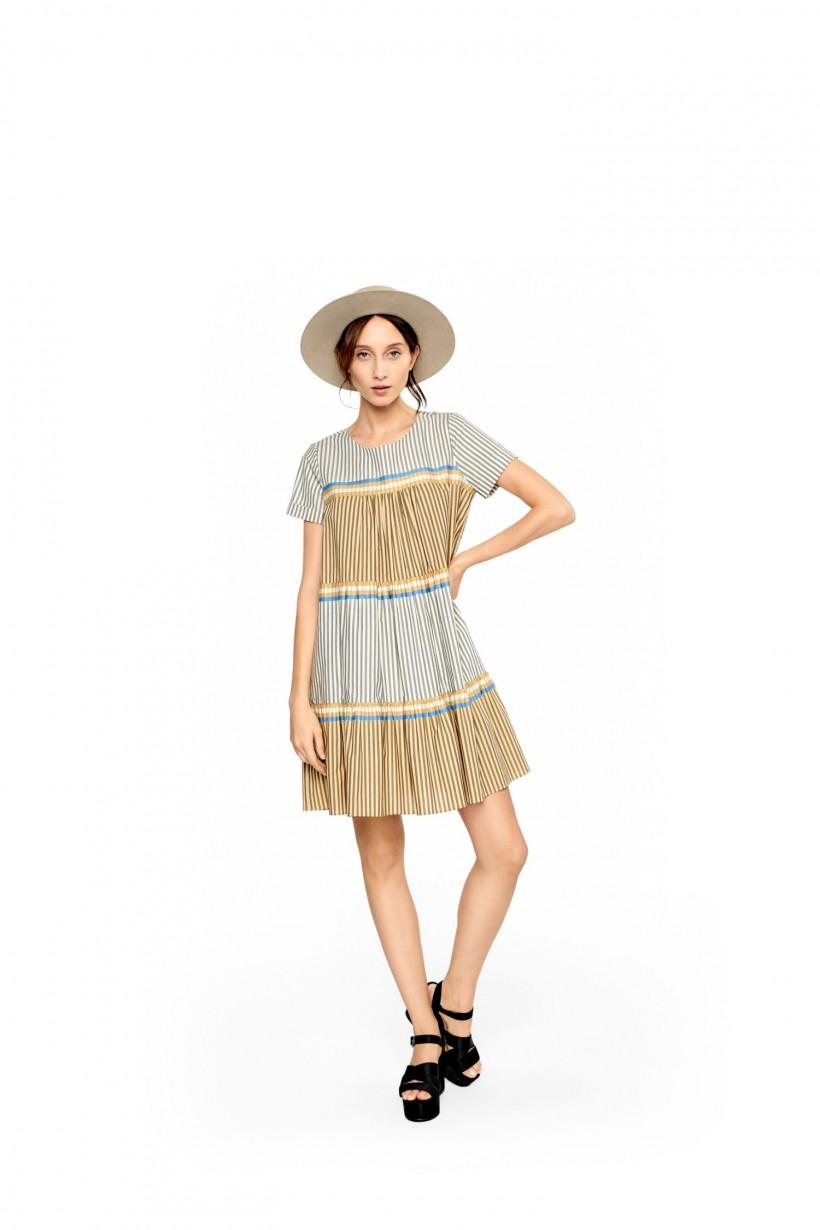 Komfortowa sukienka z bawełny