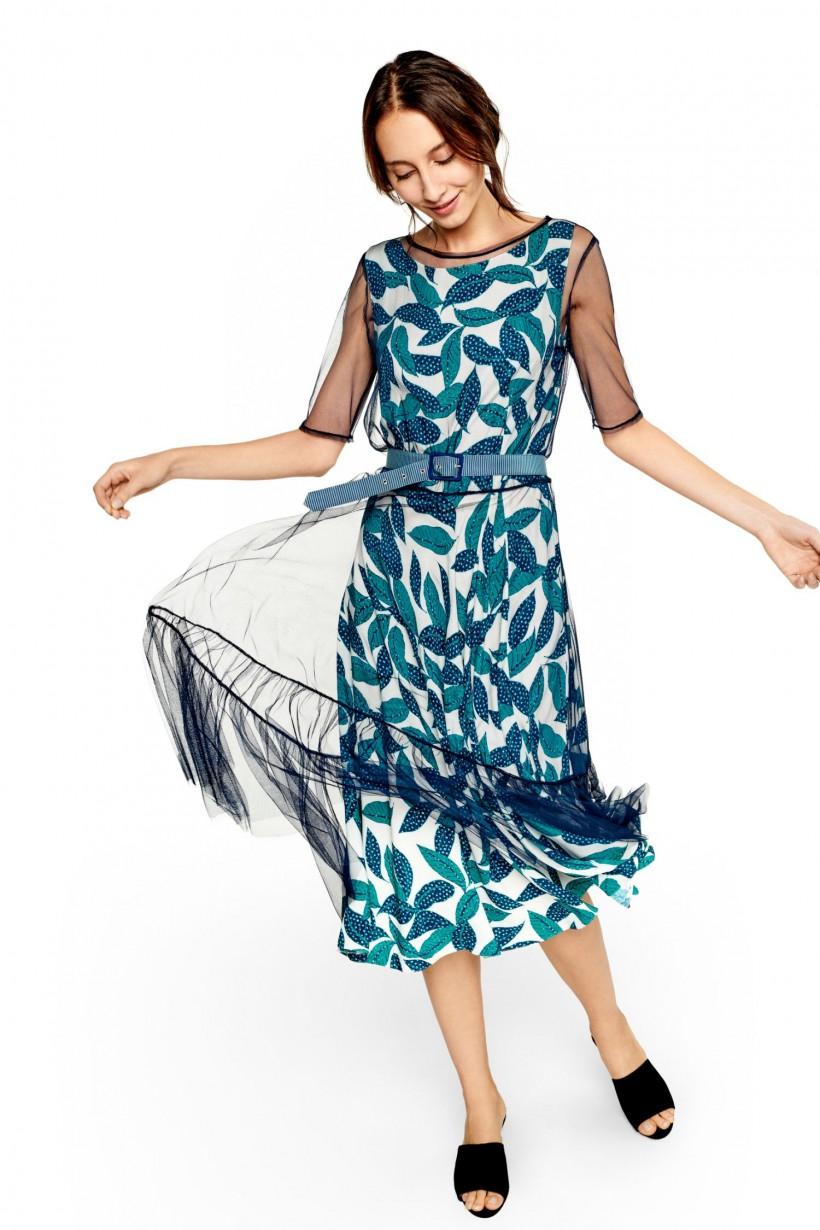 88147fda23 Oryginalna sukienka dwuczęściowa - Sukienki - Wiosna Lato 2019 ...