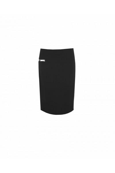 Spódnica ołówkowa z ozdobnym suwakiem