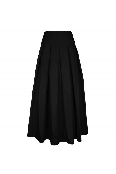 Dwustronna spódnica z tafty
