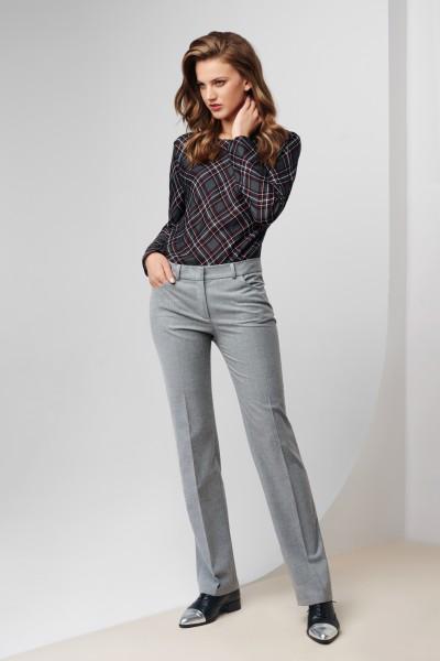 Spodnie z prostymi nogawkami