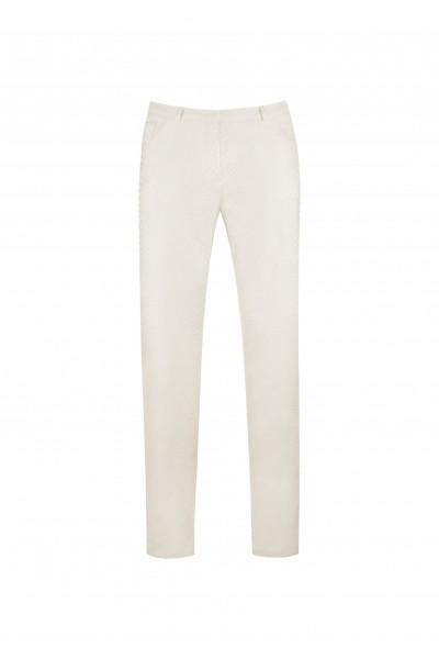 Spodnie z tłoczonym wzorem