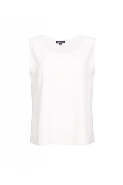Bluzka biała typu top