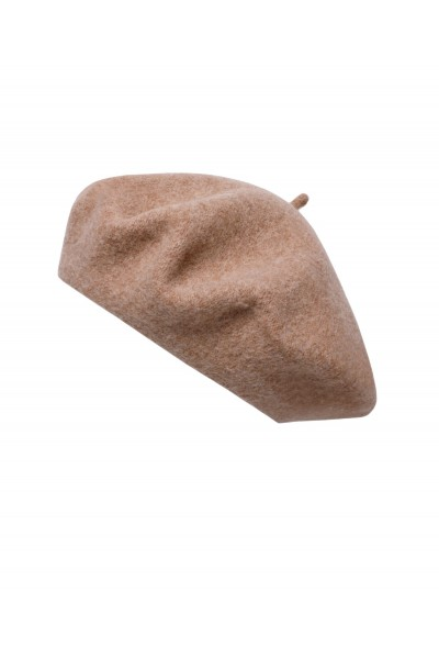 Beżowy beret