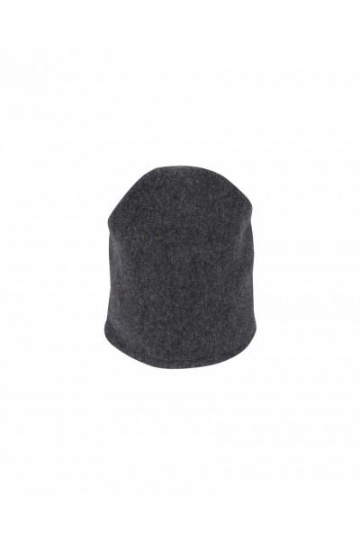 Szara czapka wełniana