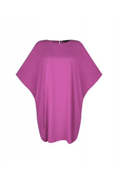 Luźna sukienka z rękawami typu kimono