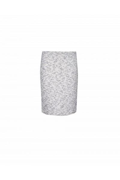 Ołówkowa spódnica z bawełną