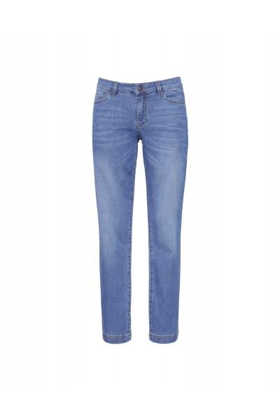Spodnie typu jeansy w kolorze jasnoniebieskim