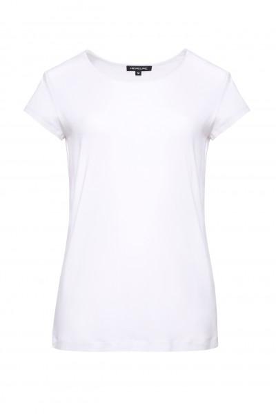 T-shirt biały z krótkim rękawem