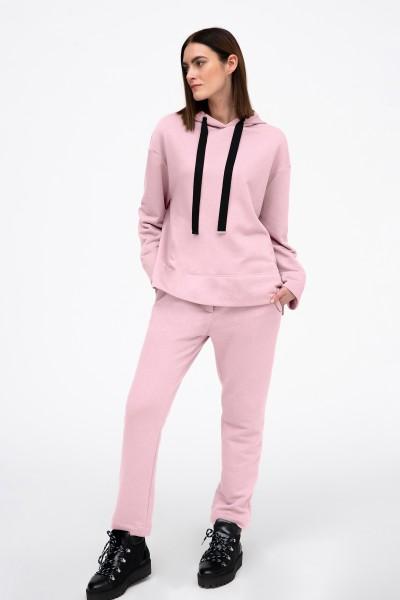 Spodnie dresowe w kolorze różowym