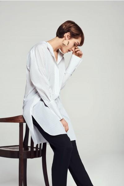 Długa koszula bawełniana