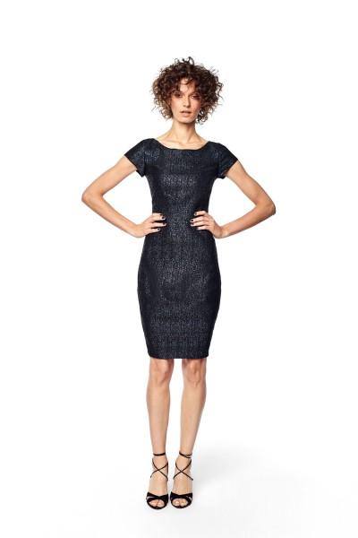 eb3f1bd853 Sukienka z połyskującej tkaniny 985
