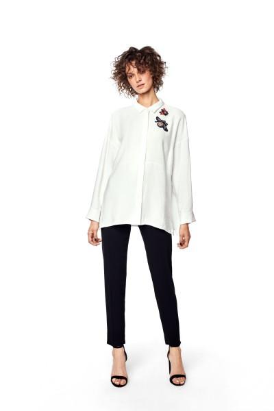Biała koszula oversize