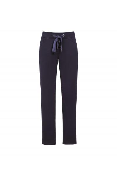 Granatowe sportowe spodnie