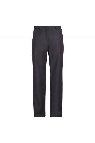 Casualowe czarne spodnie